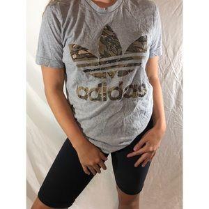 Adidas Camo Graphic Tee